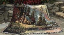 A Peaceful Retreat Throw Blanket