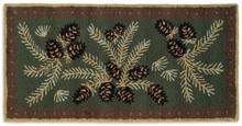 Diamond Pine Hearth Rug