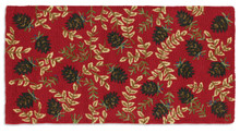 Ruby Cones Hearth Rug