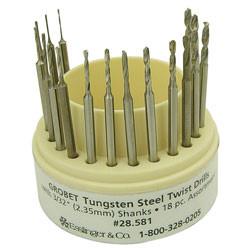 Tungsten steel twist drill jewelry tool