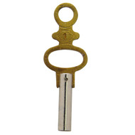 Stainless steel pocket watch keys to repair any pocket watch