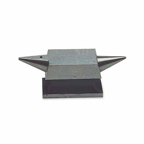 Jewelers rectangular anvil with smooth surface is great for workbench