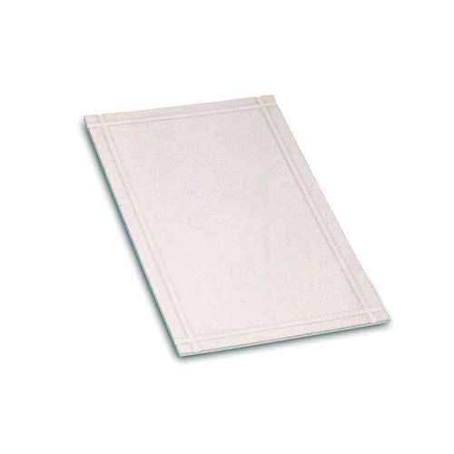 Enameled Fiberboard Bench Plate