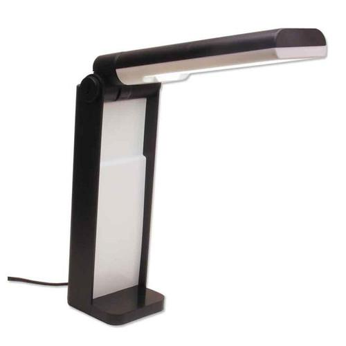 Portable folding diamond grading light lamp for jewelry repair