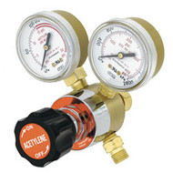 Gentec acetylene regulator for soldering and annealing tasks