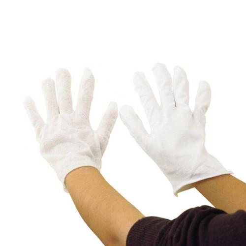 Cotton Gloves Medium White