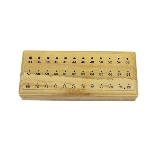 36 Holes Wood Drill Bit Holder Stand
