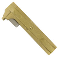 "3"" Inch 80mm Deluxe Brass Jewelry Caliper Gauge"