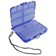 Beading supplies storage box with 11 to 32 compartments