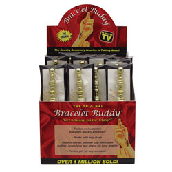 24pcs bracelet buddy counter display