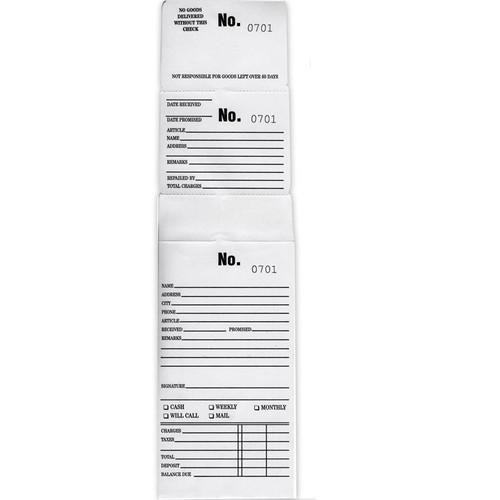 White Triple Duty Job Envelopes Box of 1000