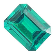 Emerald Cut Lab Created Emerald