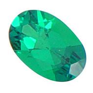 Oval Lab Created Emerald