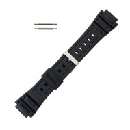 Rubber Watch Band 18 MM Sport Watch Band Fits Casio G Shock