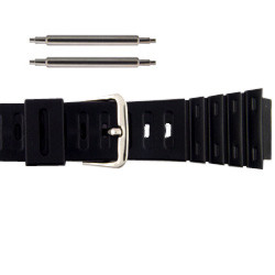 20mm Casio G-Shock sport rubber watch band