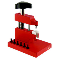 Horotec button removing tool for friction tubes