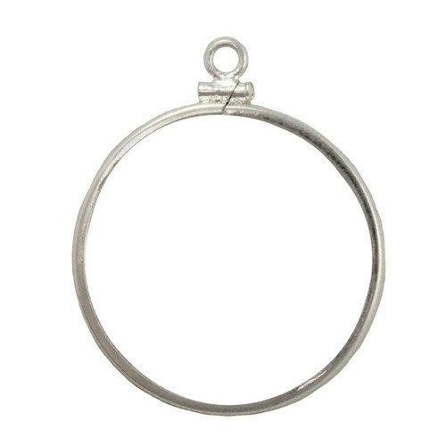 Coin bezel nickel sterling silver coin edge coin frame pendant sterling silver nickel size bezel edge coin frame pendant aloadofball Gallery