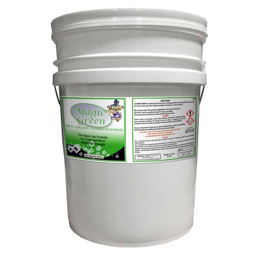 50 lb magic green ultrasonic jewelry cleaning powder concentrate