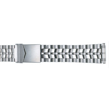18MM men's stainless steel sport metal watch band