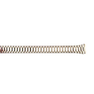 16MM ladies stainless steel tapered expansion bracelet watch band