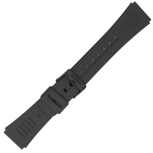 Genuine factory Casio DBC30 black strap replacement band