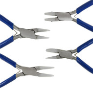 Use nylon jaw jewelers pliers in various jewelers applications
