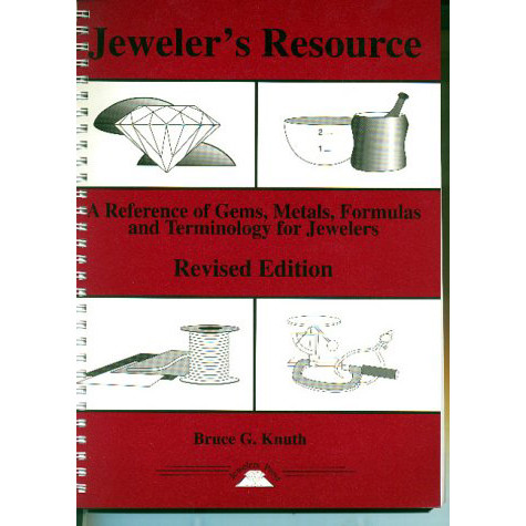 Resource and reference book for jewelers