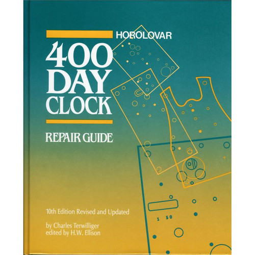 10th edition Horolovar 400 day anniversary clock repair guide