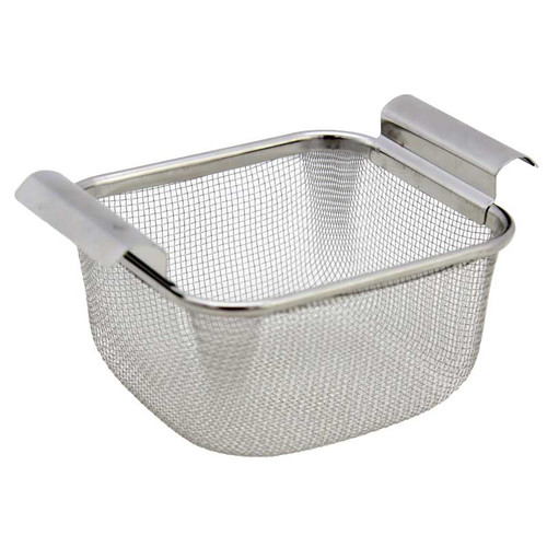 Stainless steel mesh cleaning basket for two-quart GemOro Turbo Sweep