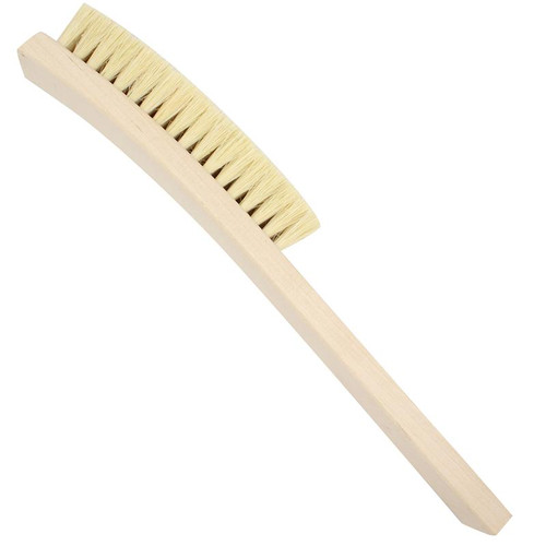 13 inch bristle wood jewelry cleaning bench brush