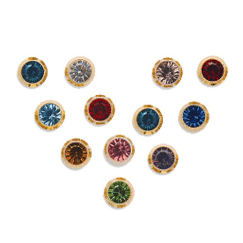 dp piercing com surgical mixed amazon stud steel ear colors pair studs