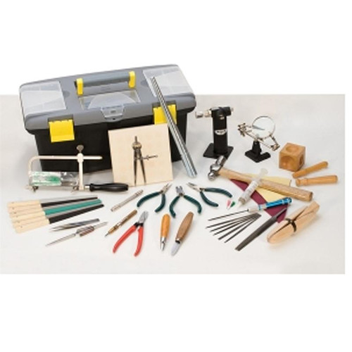 jewelry making tool kit jewelers hand tool set with portable tool box. Black Bedroom Furniture Sets. Home Design Ideas