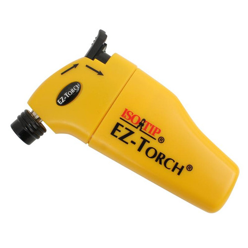 EZ Torch Portable Mini Torch by ISOTIP uses Butane Flame