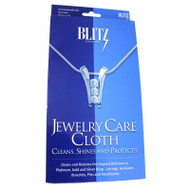 Blitz Jewelry Care Cloth Jewelry Polishing and Cleaner