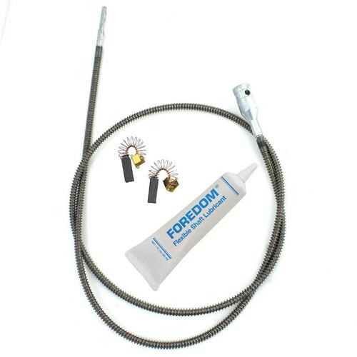 Foredom Flex Shaft Maintenance Kit MSMK-10 with Inner Sheath Motor Brushes