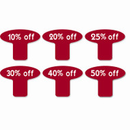 Discount Sale Tags Percent Off