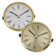 3 1/8 inch Roman numeral gold clock movement bezel insert
