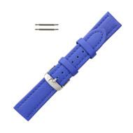Hadley Roma Genuine Lorica® Watch Band Hypo Allergenic 20mm Blue