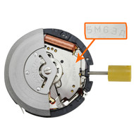 Genuine Seiko 5M63 quartz watch movement from Japan