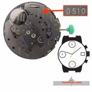 Miyota/Citizen LTD Watch Movement 0S10 Quartz Movements Overall Height 6.0mm
