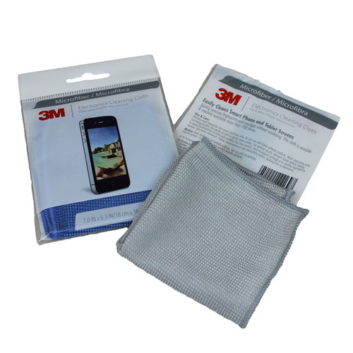 "3m Microfiber Lens Cleaning Cloth Pack Of 10: 3m® Microfiber Cleaning & Polishing Cloth 6"" X 7"""