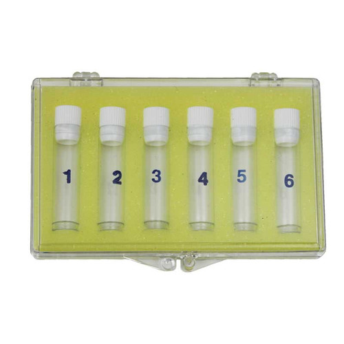 Plastic Assortment Box with 6 Plastic Bottles