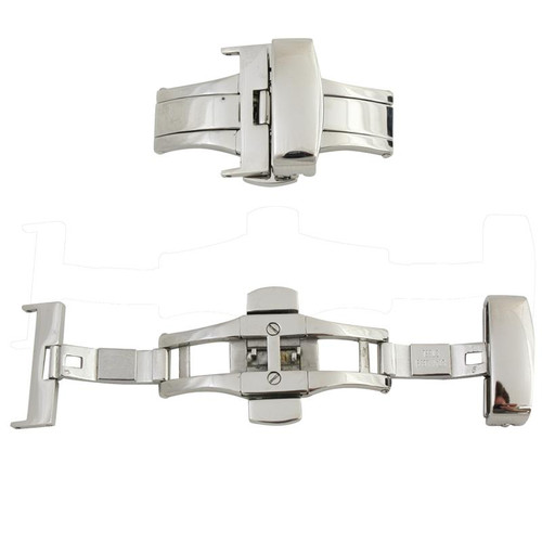 Watch Band Clasp Stainless Steel Deployment Buckle with Push Buttons