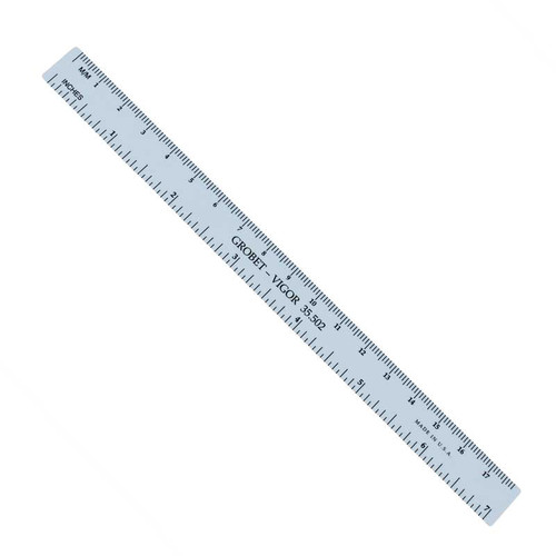 "Mini Plastic Ruler 7"" inch"