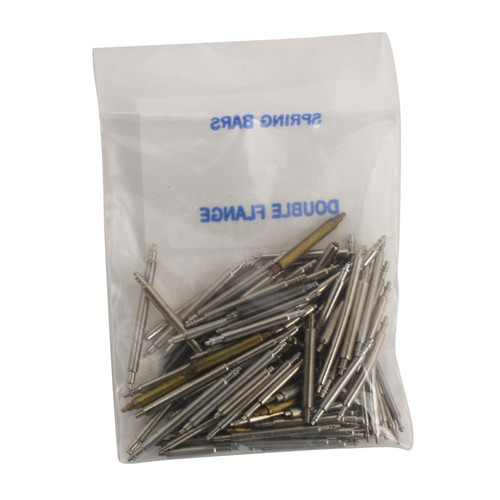 Nickel Plated and Brass Spring Bar Assortment - 100 Pieces