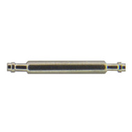 Stainless steel short end spring bars for replacing watchband clasps