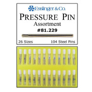 Pressure link pins kit for watch bands