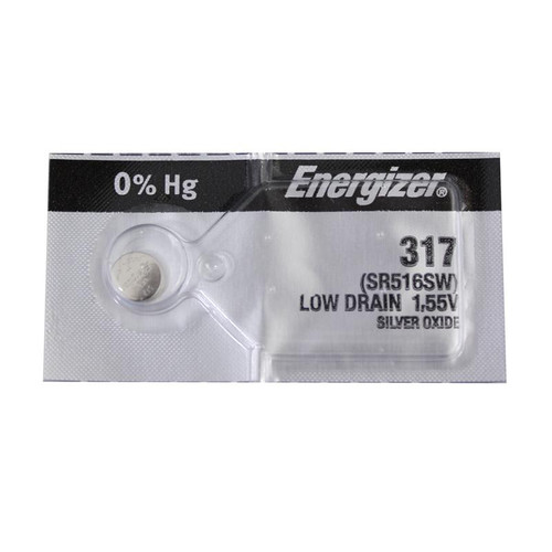 Energizer 317 watch battery replacement cell