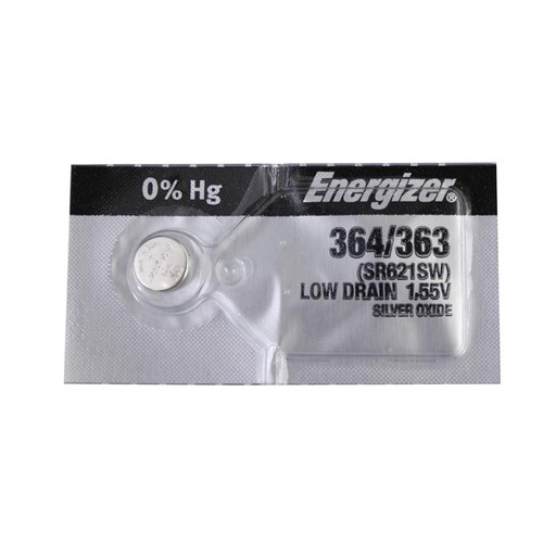 Energizer 364 batteries for replacing old watch cells