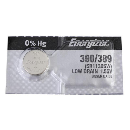 Energizer 390 batteries replace old watch cells